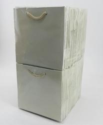 - 11*11 Karton Çanta 50'li Düz Krem