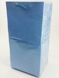 - 11*11 Karton Çanta 50'li Düz Mavi