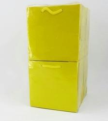 - 11*11 Karton Çanta 50'li Düz Sarı