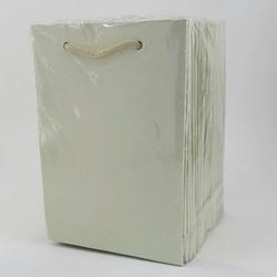 - 12*17 Karton Çanta 25'li Düz Krem