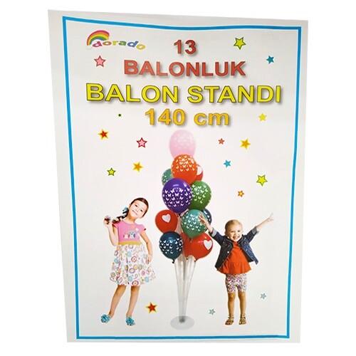 - 13'lü Balon Standı 140 cm