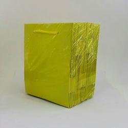 - 14*17 Karton Çanta 25'li Sarı