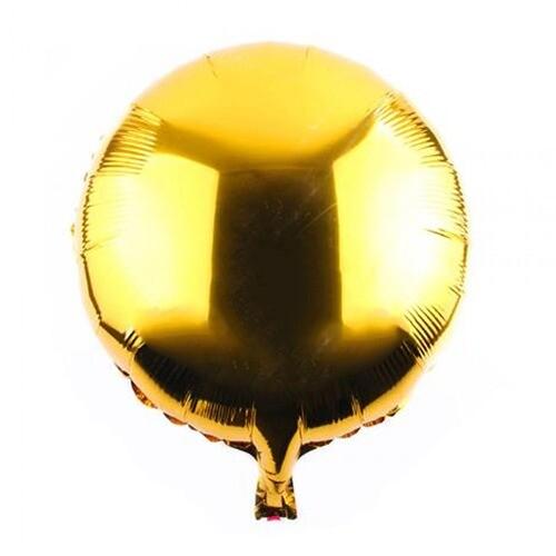 - 18 İNÇ YUVARLAK GOLD FOLYO BALON