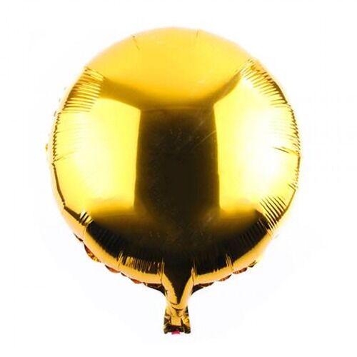 18 İNÇ YUVARLAK GOLD FOLYO BALON