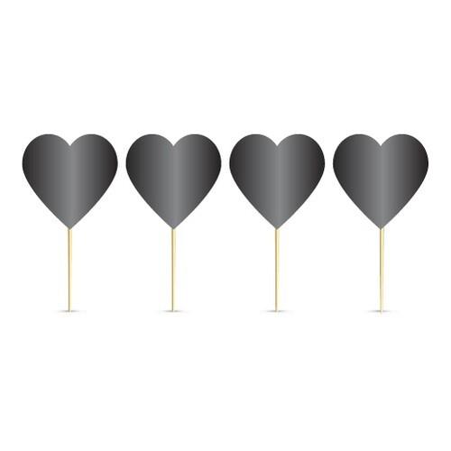 - 20'li Kalp Siyah Kürdan