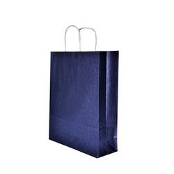 - 25X31 Büküm Saplı Çanta 25'li Lacivert