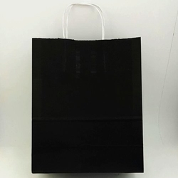 - 25X31 Büküm Saplı Çanta 25'li Siyah