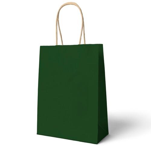 - 25X31 Büküm Saplı Çanta 25'li Yeşil