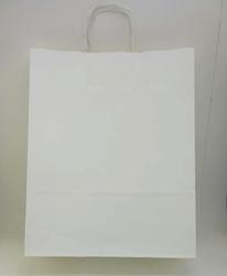 - 32x40 Büküm Saplı Çanta 25'li Beyaz