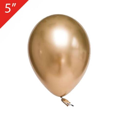 - 5 İNÇ KROM BALON GOLD 100'lü