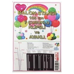 - 7'li Balon Standı 105 cm