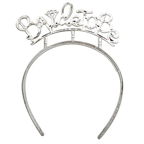 - Bride To Be Gümüş Plastik Taç