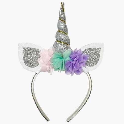 - Eva Taç Unicorn Dolgulu Gümüş