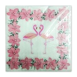 - Flamingo Pembe Peçete
