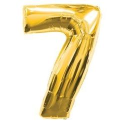 - GOLD 7 RAKAM BALON 16 İNÇ