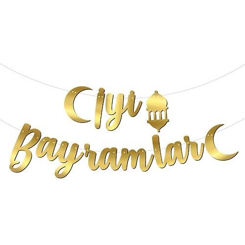 - KALİGRAFİ BANNER İYİ BAYRAMLAR