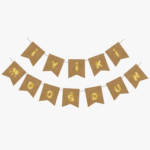 - Kraft Gold Yaldızlı Banner