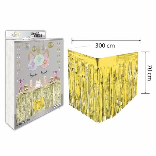 - Masa Eteği Gold 70*300 cm