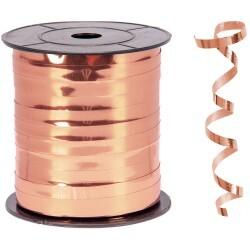 - Metallik Bakır Rafya Şerit 8 mm x 200 m