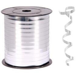 - Metallik Gümüş Rafya Şerit 8 mm x 200 m