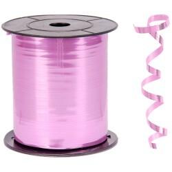 - Metallik Pembe Rafya Şerit 8 mm x 200 m