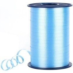 - Pastel Açık Mavi Rafya Şerit 8 mm x 200 m