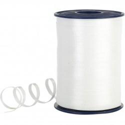 - Pastel Beyaz Rafya Şerit 8 mm x 200 m