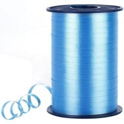 - Pastel Mavi Rafya Şerit 8 mm x 200 m