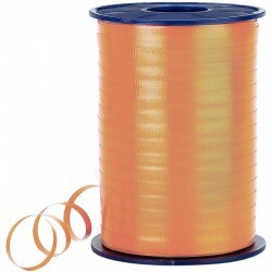 - Pastel Turuncu Rafya Şerit 8 mm x 200 m