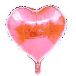 - Pembe Kalp Folyo Balon 18 inç