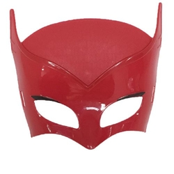 - Plastik Maske Kırmızı