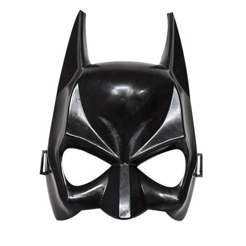 - Plastik Maske Siyah Yarasa