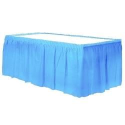 - Plastik Mavi Masa Eteği