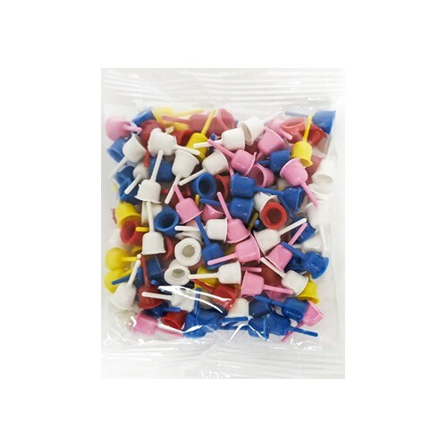 - Plastik Mum Altlığı Karışık Renkli