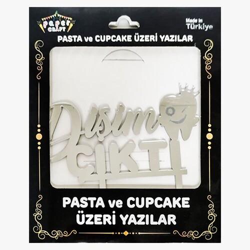 - Pleksi Pasta Üzeri Yazı Gümüş Dişim Çıktı