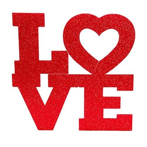 - Strafor Love Büyük 45*48 cm