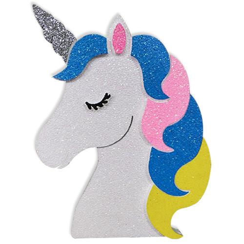 - Strafor Unicorn Baskılı Dekor Süs